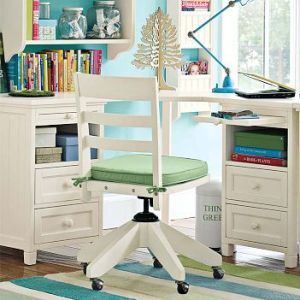 Beadboard Basic Corner Desk from Pottery Barn Teen
